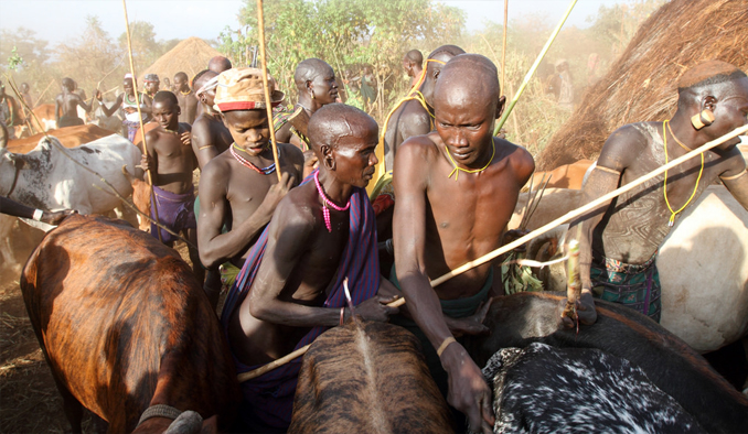 The Surma and Suri tribes are considered one of the Most Isolated and Dangerous Tribes in the World