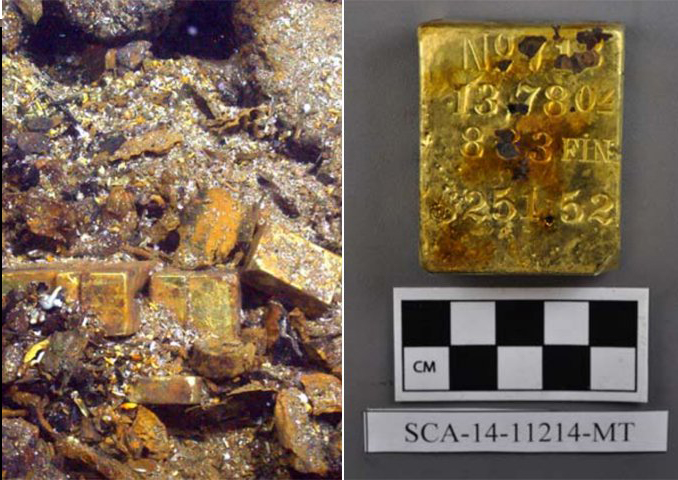 The SS Central America is one of the Most Valuable Shipwrecks Ever Found