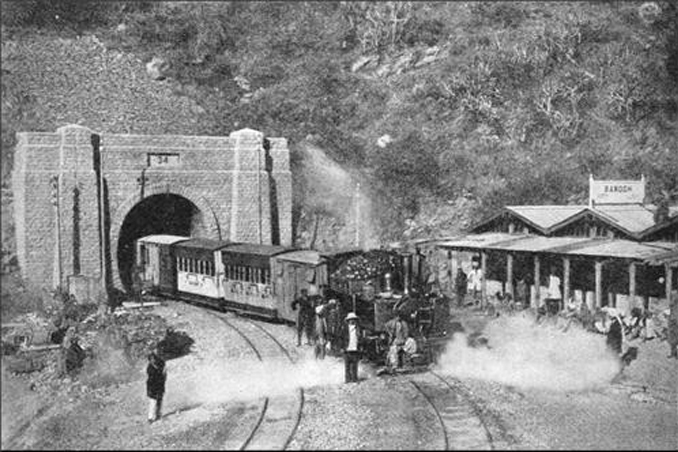 Tunnel 33 on the Shimla train line is one of the Most Haunted Places in India